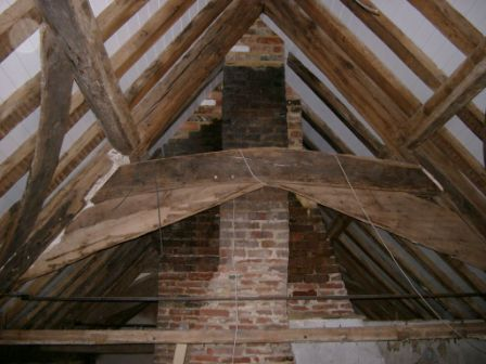 Oak beams dating